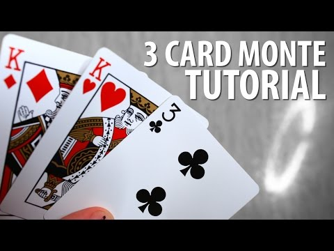 3 Card Monte Scam – TUTORIAL