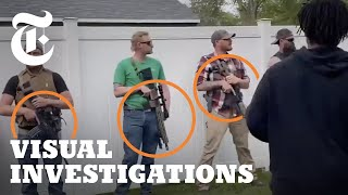 How U.S. Police Took a Hands-Off Approach to Armed Groups in 2020   NYT - Visual Investigations