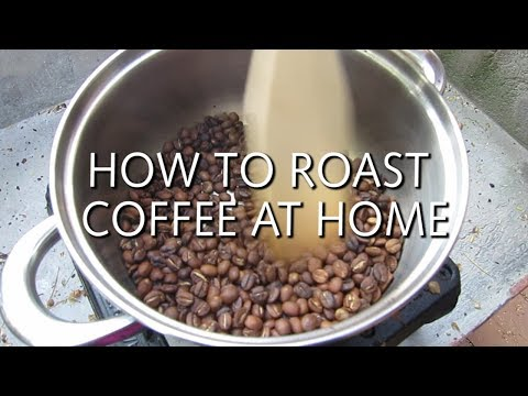 HOW TO ROAST COFFEE AT HOME (On the stove!)