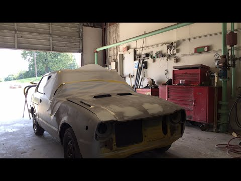 How To Spray 2K Filler Primer - Do IT Yourself - LIve Lesson Fridays