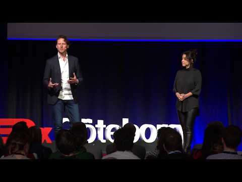 The Game of Love and War | Talib Fisher & Shubhaa Fisher | TEDxGöteborg