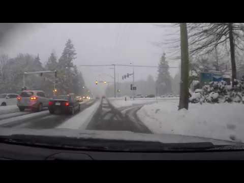 SNOW STORM - CLOSE CALL