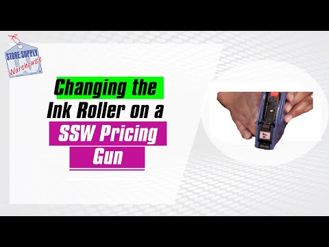 How to Change a Pricing Gun Ink Roller