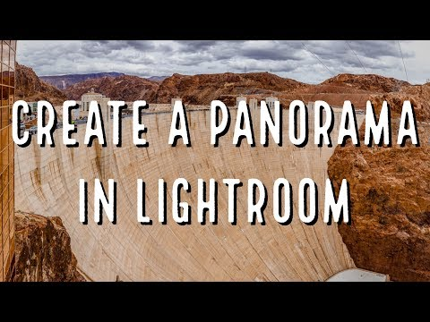 How to Create a Panorama in Lightroom Quick and Easy!