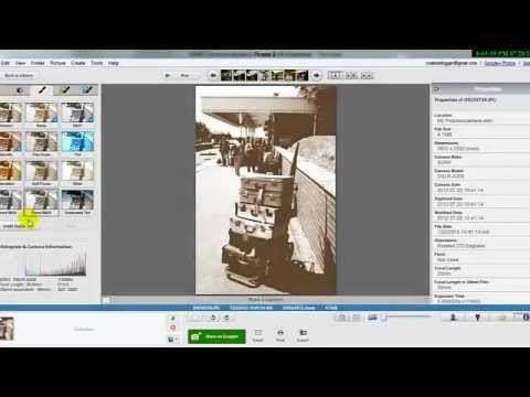 How to make a image old using google picasa (better quality)
