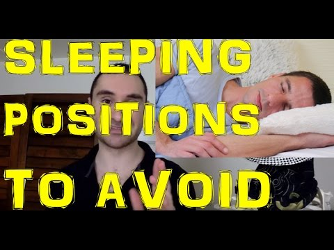 Sleeping Positions To Avoid To Prevent Pinched Nerves & Neck and Shoulder Pain