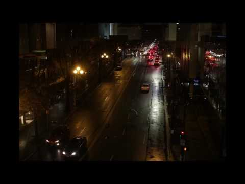 Seattle Night Traffic Time Lapse