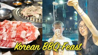 Korean Food in Koreatown LA (ft. Heyitsfeiii & Koreos)
