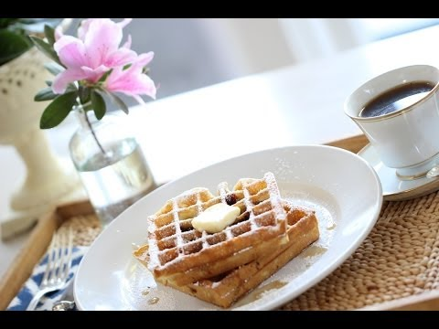 Beth's Easy Blueberry Waffles | ENTERTAINING WITH BETH