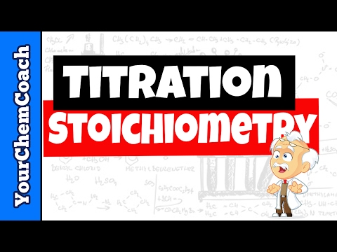 How to Calculate Titration Stoichiometry