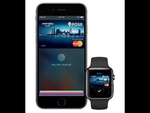 Apple pay success in sheng siong with POSB GO card