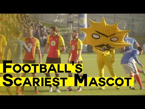 new style 079a8 0be67 Football s Scariest Mascot   Meeting Kingsley