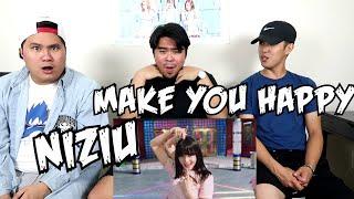 NiziU 『Make you happy』 M/V REACTION