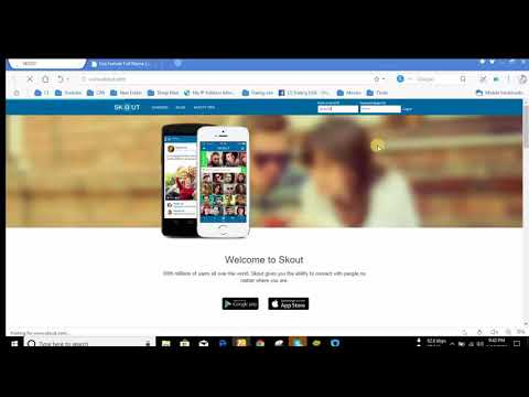 How to create skout || skout || CAP markating