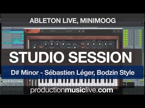 (Studio Session) House/Techno Track in D# Minor - Sébastien Léger, Bodzin Style