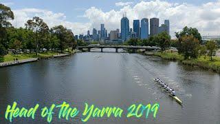 Head of the Yarra 2019 - 8k Time Trial | Aerial | 4k | Melbourne, Australia