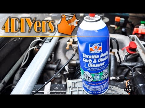 DIY: How to Clean a Throttle Body