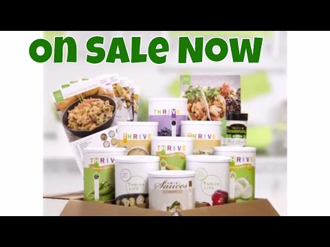 Thrive Sale & Live Party With Linda's Pantry