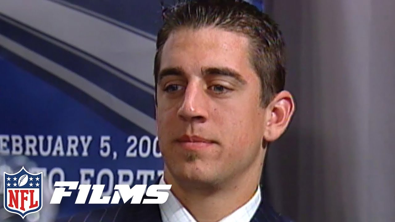 Aaron Rodgers Draft Day Slide & MUCH MORE!   2005 Caught in the Draft
