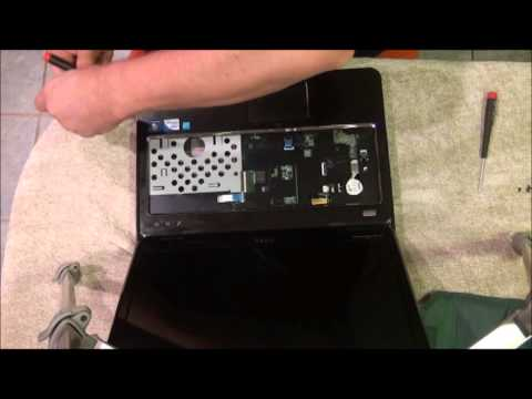 DIY - How to Remove the Hard Drive from a Dell Inspiron N4110