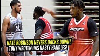 Nate Robinson Tells Defender HE'S TOO LITTLE Then Gets BUCKETS!! Tony Wroten Has NASTY Handles!!
