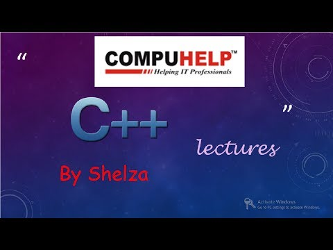 C++ Tutorials-Same Name Function In Derived And Base Class(In Hindi)