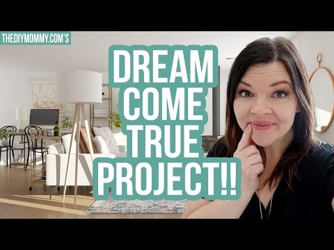 A DREAM COME TRUE PROJECT!! | The DIY Mommy