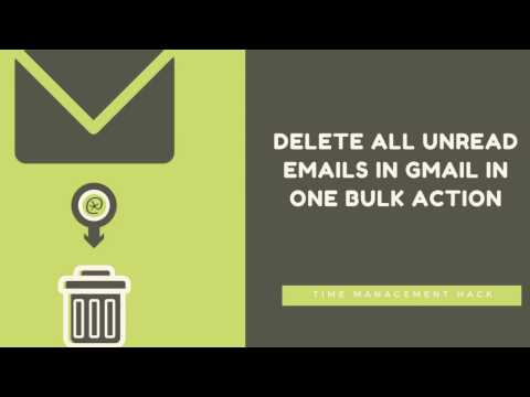 Delete Unread Emails From Gmail