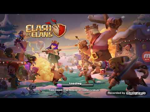 Clash of clan new update.  Clan games and magic spells and more