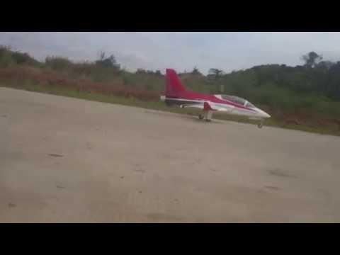 Aeromodelling Samarinda - Viper Turbine with smoke