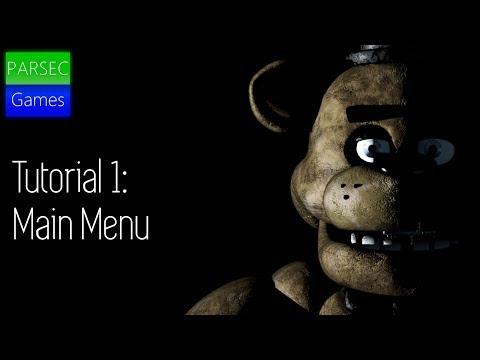 FNAF Scratch Tutorial: Realistic Remake | Ep.1 | Main Menu | ParsecGames