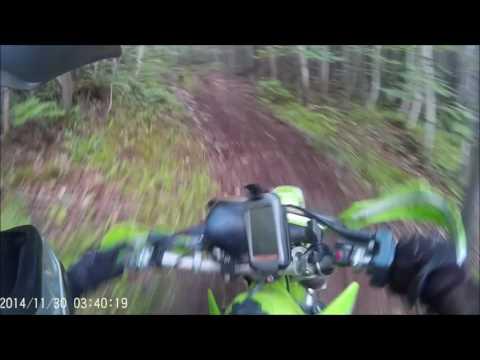 KDX dirt ride - Claudie Rip #2