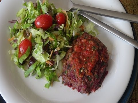 How to Make Vegan Lentil Burgers