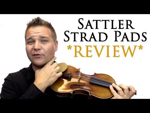 Sattler Strad Pad Chinrest Cover