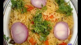 How to Prepare Tomato Rice (టొమాటో రైస్) - Telugu Vantalu