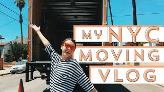 My LA - NYC Moving Vlog