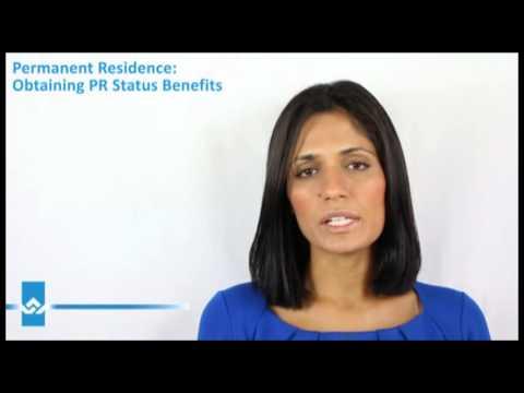 Canada Permanent Residence Status Benefits