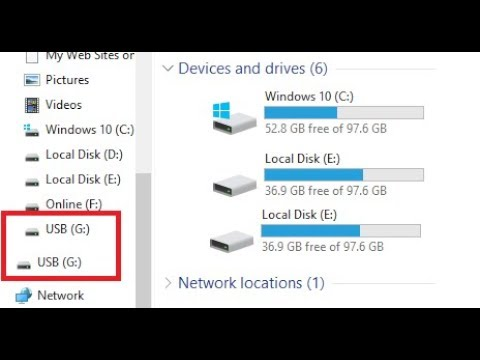 How to Fix Same Double Driver Showing in Windows 10 Explorer (100% Works)