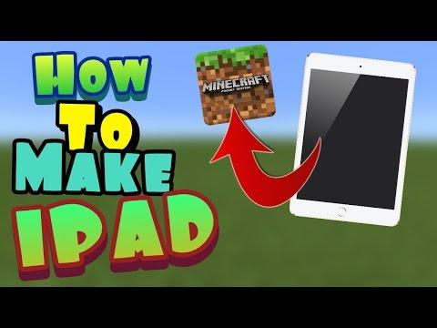 How to Make IPAD Minecraft PE | Minecraft (Pocket Edition) MCPE