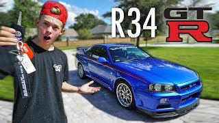 GTR DREAM COME TRUE! *R34 in USA*