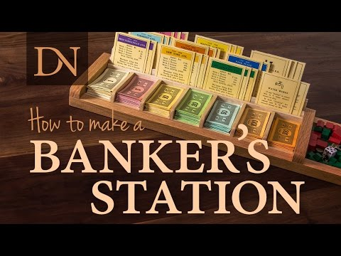 How to Make a Banker's Station for Monopoly