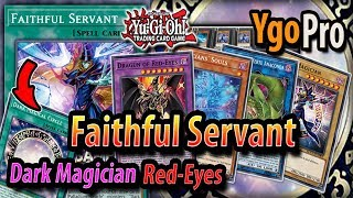 Faithful Servant is TOP TIER! *NEW* DARK MAGICIAN RED-EYES   DP23