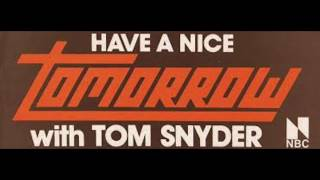 Download TOMORROW with Tom Snyder - Guest: Don Imus - NBC-TV - September 1979 Video