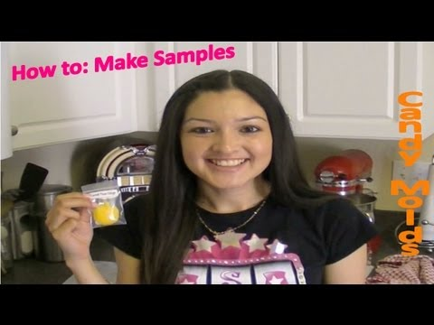 How to: Make Scentsy samples with candy molds!