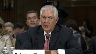 RECAP: Rex Tillerson confirmation hearing