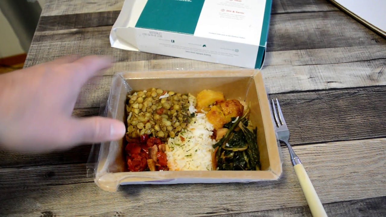Mosaic Vegetarian Food Box Jerk Lentil And Plantain Bowl Review