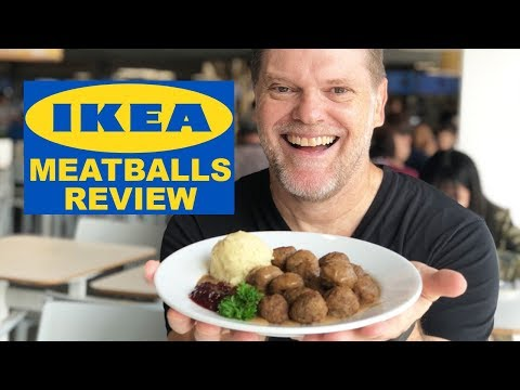 IKEA Meatballs Food Review - Greg's Kitchen