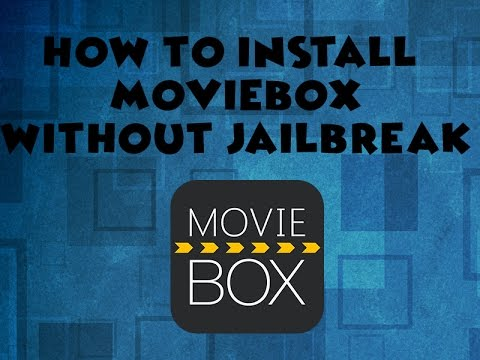 How To Install MovieBox on any IOS device Without Jailbreak