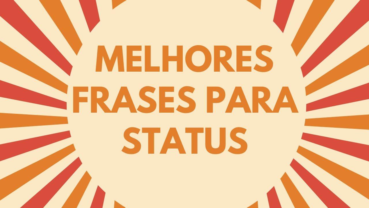 Frases Perfeitas para Status Whatsapp, Facebook, Twitter, Tumblr
