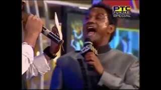 master saleem kidding with diljit